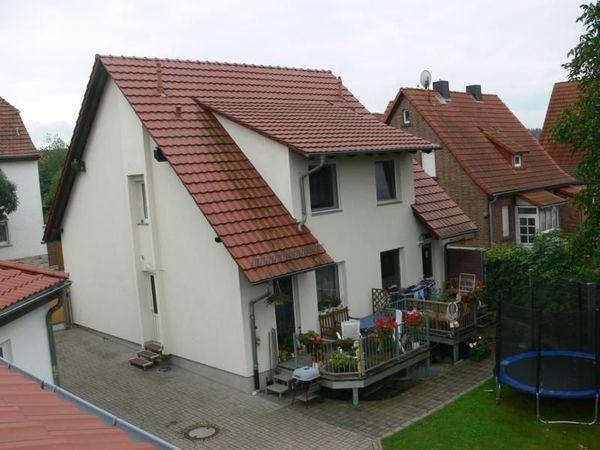 Balkon zur Doppelhaushälfte - Wohnung