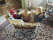Puppenwagen gefüllt