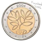 Finnland 2 Euro 2004 EU-Erweiterung