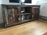 Vintage TV Lowboard indische Möbel