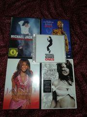 4 DVDs Michael Jackson und