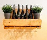 Weinregal Vino - Upcycling- Europalette - Handmade