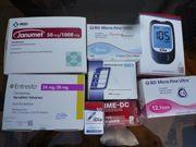 Diabetes-Artikel NEU Blut-Teststreifen Lanzetten Pennadeln