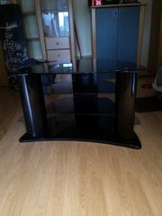 Glas Fernseh Tisch