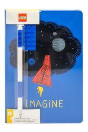 LEGO® Imagine - Notizbuch mit Gelstift