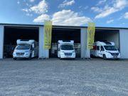 Wohnmobil mieten - Teilintegriert - Alkoven - Reisemobile