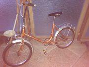 Faltrad Klapprad vintage Faltrad aus
