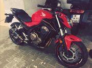 Honda CB500FA Naked Bike Motorrad