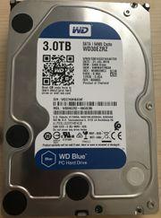 Festplatte harddisk 3TB WD30EZRZ SATA