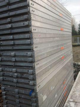 Sonstiges Material für den Hausbau - 70 m² gebrauchtes Alu Gerüst