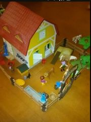 Playmobil Ponyhof mit Zubehör