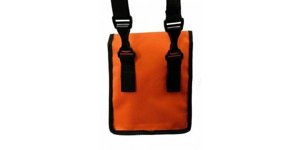 orange Notentasche Umhängetasche für Marschmappe aus Cordura