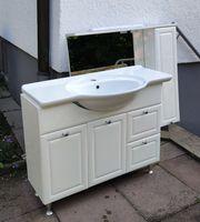 Waschtisch Schrank mit Spiegel