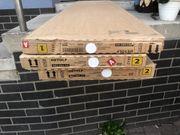 Ikea Detolf Glasvitrine weiß neu