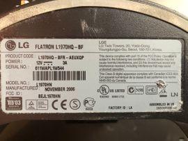 Monitore, Displays - LG Flatron L1970HQ 48 3