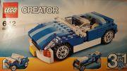 LEGO CREATOR BLAUE CABRIOS MODELLNR