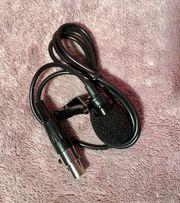 Lavalier Ansteck-Mikrofon mit 3-poligem Mini-XLR-Anschluss
