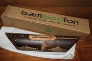 Bambus Lautsprecher
