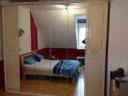 Großer Spiegel-Kleiderschrank 6 Türen Ornamente