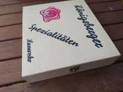 Holz Schachtel Box Kästchen 2