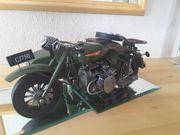 Motorrad CJ 750 mit Beiwagen
