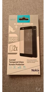 urved Tempered Glass Screen Protector -