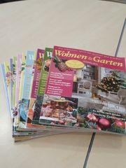Zeitschriften Wohnen und Garten