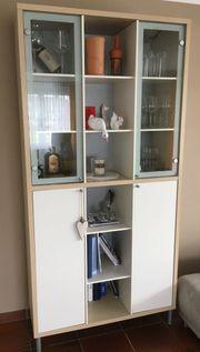 Wohnzimmer Möbel Schrank Kasten Vitrine
