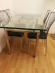 Tisch Glastisch Esszimmertisch Wohnzimmertisch