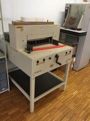 Schneidemaschine Ideal 5250 1986