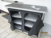 Faltbarer Campingschrank Hypercamp 110x47x87 cm