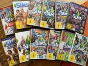 Sims PC Spiele 12 Stück