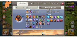 clash of Clan accs (rh13 alles gut gelevelt, rh11, rh10 komplett maxed)