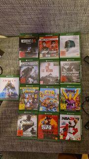 Xbox One Spiele Spielesammlung