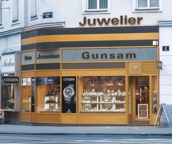 Gunsam Juwelier Domandl - Silberschmuck Goldschmuck