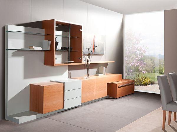 Wohnzimmer in Birne Ausstellungsmöbel