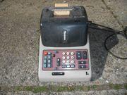 Rechenmaschine Olivetti Divisumma 24 und