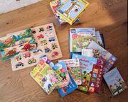 Bücher Puzzles Klangbücher für 1-2jährige