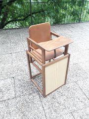 Vintage Kindersitz Tischhöhe