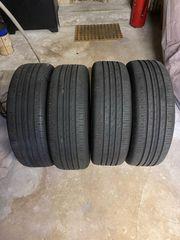Neue Reifen vom Neuwagen zu