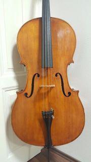 44 Old cello alte violoncello
