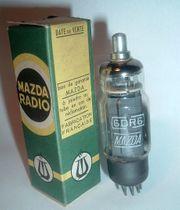 6DR6 MAZDA - Röhre für Röhrenradio