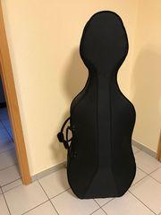 Leichtkoffer für Cello für 4