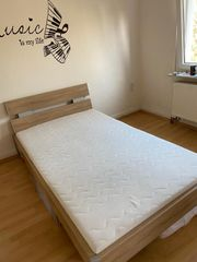 Jugendschlafzimmer Eiche Sonoma weiß