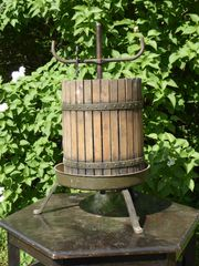 antike Saftpresse Weinpresse Obstpresse Traubenpresse