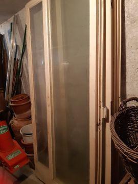 Türen, Zargen, Tore, Alarmanlagen - Alte Glastüren