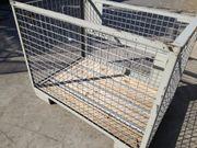 DB-Gitterboxen Lagerung stapeln bauen Werkstadt