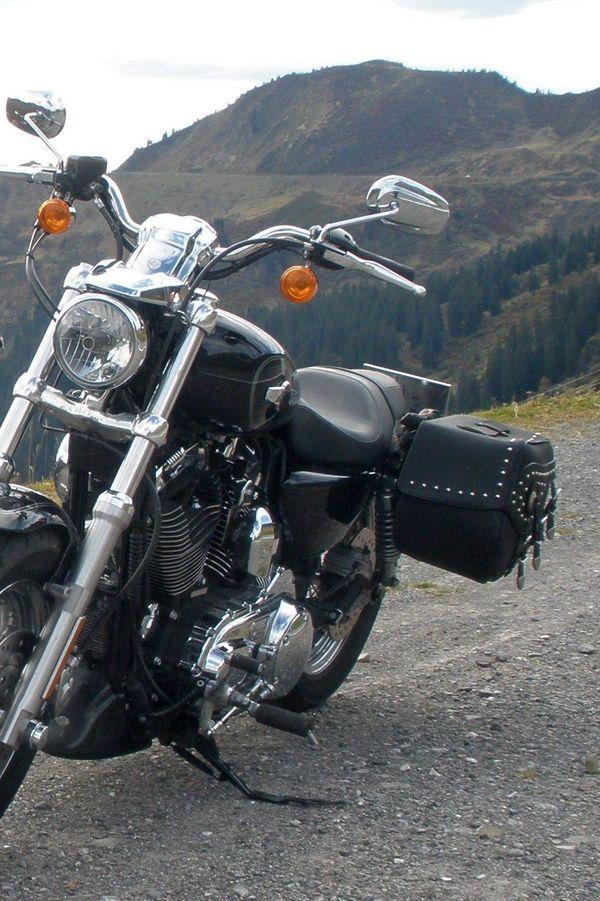 Satteltaschen für Harley-Davidson XL 1200L