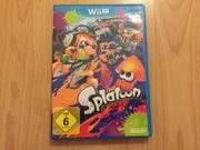 Wii U Splatoon Top Zustand