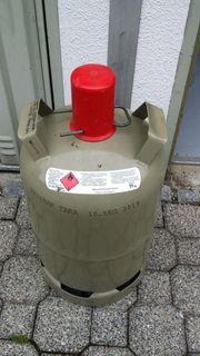 Gas Flasche Grau 11kg voll